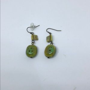 Cute stone earrings